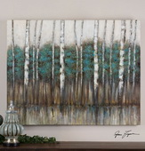 Edge Of The Forest Canvas Art  - LUT7375