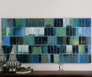 Glass Tiles Modern Art  - LUT7386