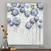 Pops Of Spring Hand Painted Art - LUT3017