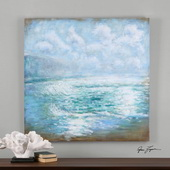 Morning Swells Canvas Art - LUT3019