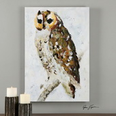 Hoo Are You? Hand Painted Art - LUT3025
