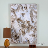 Dust Storm Abstract Art