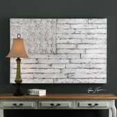 Blanco American Wall Art - LUT6479