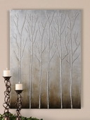 Sterling Trees Hand Painted Art  - LUT7403
