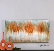 Autumn Waves Hand Painted Art - LUT3057