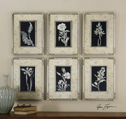 Glowing Florals Framed Art  - LUT7476