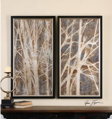 Twigs Hand Painted Art S/2 - LUT3119