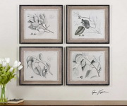 Sepia Leaf Study Wall Art  - LUT7498