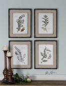 Butterfly Plants Framed Art  - LUT7502