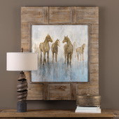 Headed To The Barn Horse Print - LUT6599