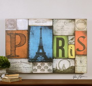 All Things Paris Print Art  - LUT7529