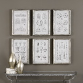 Architectural Accents Art Set of 6