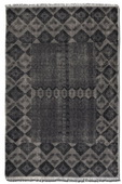 Aegean 6 X 9 Rug - Aged Charcoal  - LUT8305