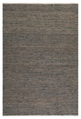 Tobais 5 X 8 Rescued Leather and Hemp Rug  - LUT8357