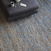 Euston Natural-Blue 8 X 10 Rug - LUT8641