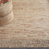 Hana Natural 8 X 10 Rug - LUT8701