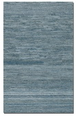 Genoa 8 X 10 Rescued Denim and Wool Rug  - LUT8514