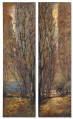 Designer Tree Panels - S/2 - LUT4102