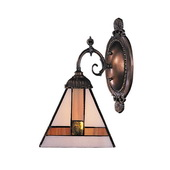 Tiffany Bronze Wall Sconce - MEK2808