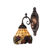 Tiffany Bronze Wall Sconce - MEK2812