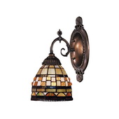 Tiffany Bronze Wall Sconce - MEK2814