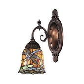 Tiffany Bronze Wall Sconce - MEK2815