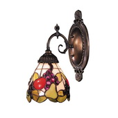 Tiffany Bronze Wall Sconce - MEK2818