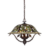 Tiffany Bronze Chandelier - MEK2852