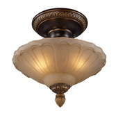 Golden Bronze Semi Flush - MEK2861