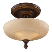 Golden Bronze Semi Flush - MEK2864
