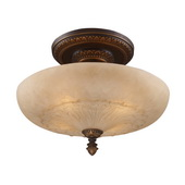 Golden Bronze Semi Flush - MEK2865
