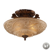 Golden Bronze Semi Flush - MEK2890