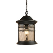 Matte Black Outdoor Pendant - MEK2893