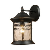 Matte Black Outdoor Sconce - MEK2894