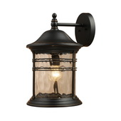 Matte Black Outdoor Sconce - MEK2896
