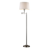 Polished Chrome Floor Lamp - MEK2180