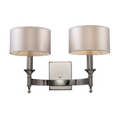Polished Nickel Wall Sconce - MEK2987