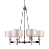 Polished Nickel Chandelier - MEK2988