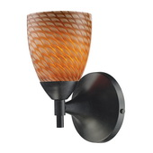 Dark Rust Wall Sconce - MEK3062