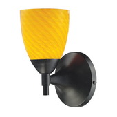Dark Rust Wall Sconce - MEK3063