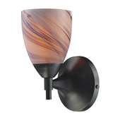 Dark Rust Wall Sconce - MEK3065