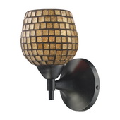 Dark Rust Wall Sconce - MEK3069