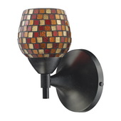 Dark Rust Wall Sconce - MEK3071