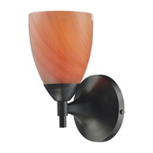 Dark Rust Wall Sconce - MEK3077