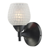 Dark Rust Wall Sconce - MEK3079