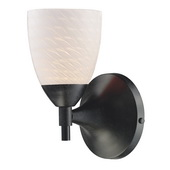 Dark Rust Wall Sconce - MEK3080