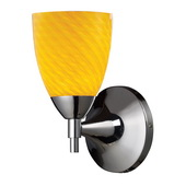 Polished Chrome Wall Sconce - MEK3085