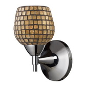 Polished Chrome Wall Sconce - MEK3091