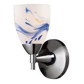Polished Chrome Wall Sconce - MEK3094