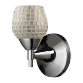 Polished Chrome Wall Sconce - MEK3097